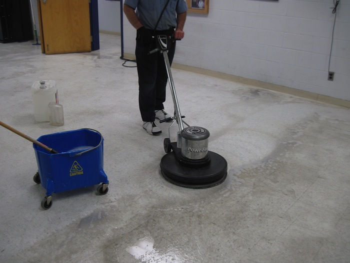 vct tile stripping and waxing « crowning touch cleaning consultants